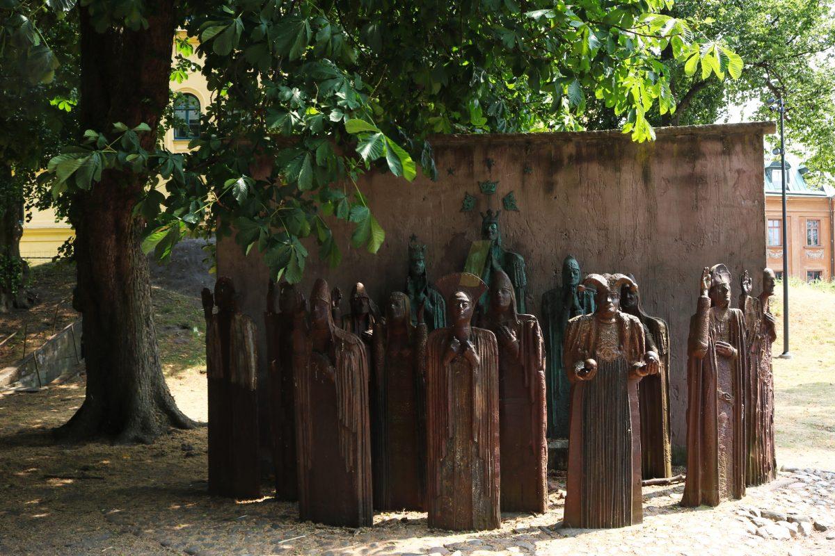 Monumento a la union en Kalmar <br> Foto: Israel Úbeda / sweetsweden.com