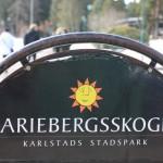 Mariebergsskogen, el parque de Karlstad
