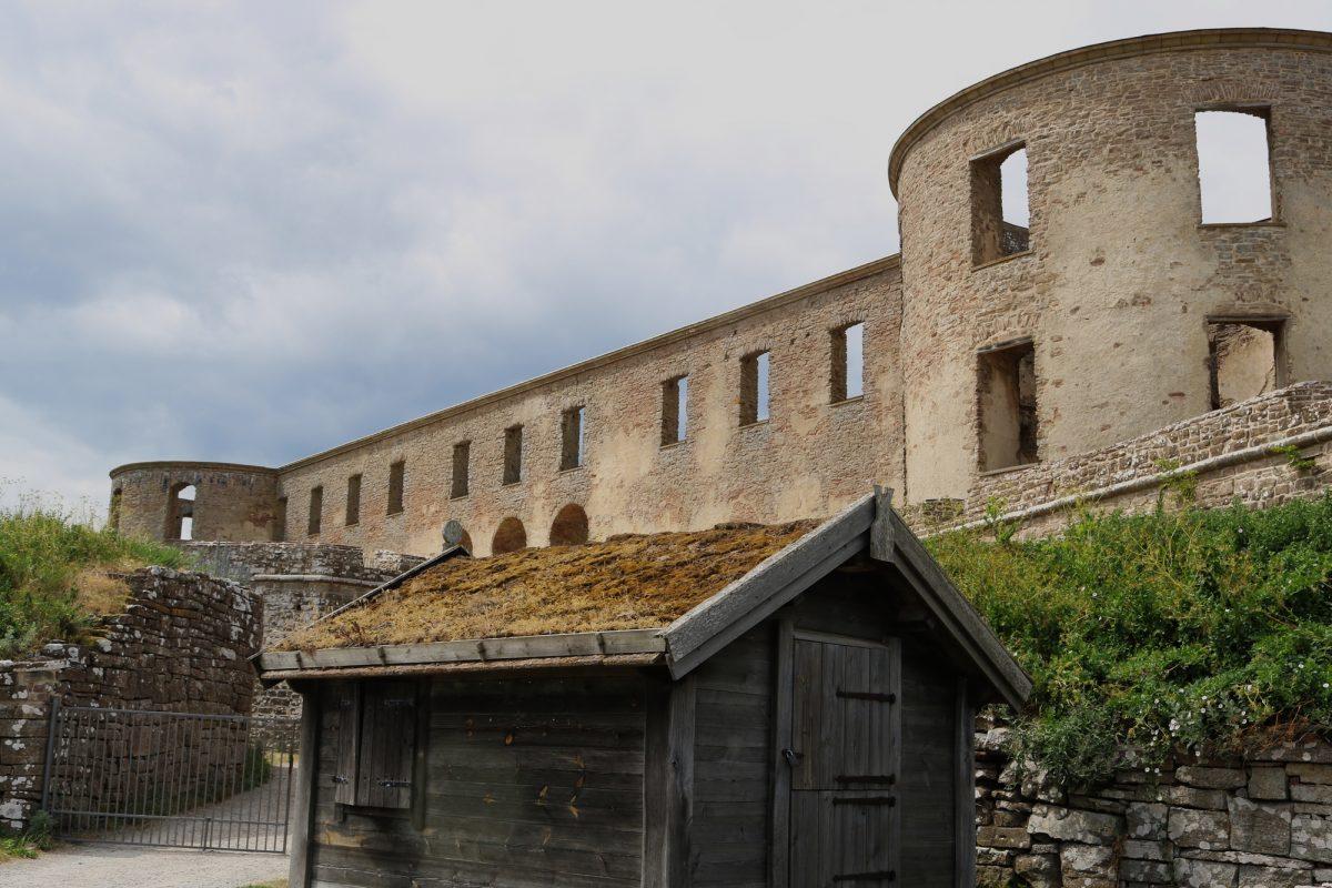 Castillo de Borgholm en Öland <br> Foto: Israel Úbeda / sweetsweden.com