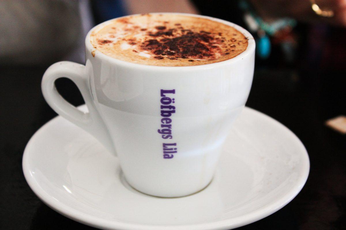 Café Löfbergs Lila en Suecia <br> Foto: Israel Úbeda / sweetsweden.com
