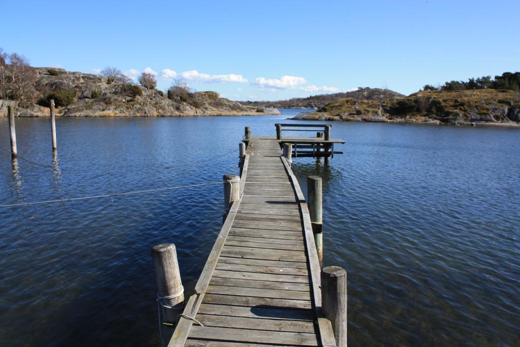 Muelle en una de las islas del archipiélago sur de Gotemburgo, foto: Israel Úbeda/sweetsweden.com