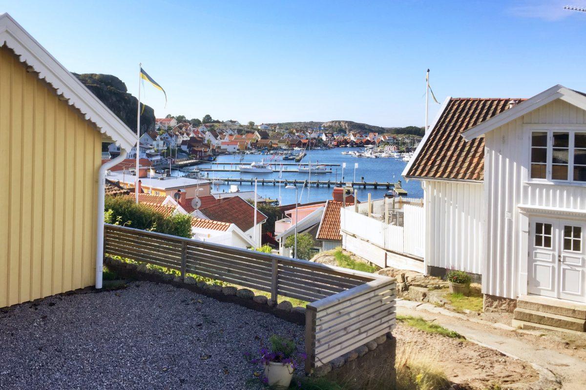 Vista desde Utsiktsgatan en Fjällbacka <br> Foto: Israel Ubeda / sweetsweden.com