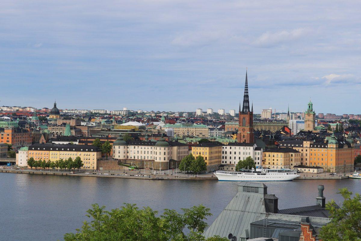 Vista de Estocolmo <br> Foto: Israel Úbeda / sweetsweden.com