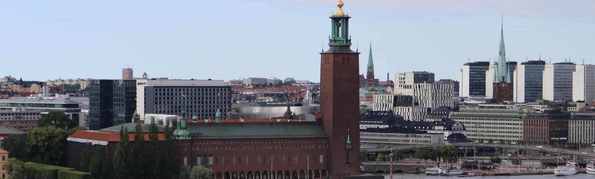Besuch das Stockholmer Rathaus und die Turmglocke