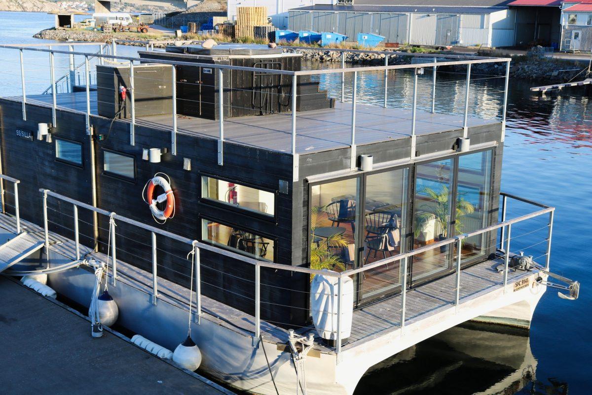 La sauna-barco S/S Silla <br> Foto: Israel Úbeda / sweetsweden.com