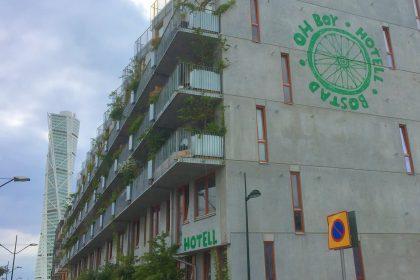 Hotel OhBoy en Malmö Foto: Israel Úbeda / sweetsweden.com