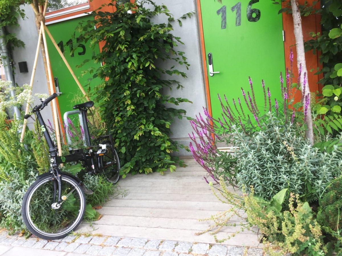 Exterior de una habitación del hotel Ohboy en Malmö <br> Foto: Israel Úbeda / sweetsweden.com