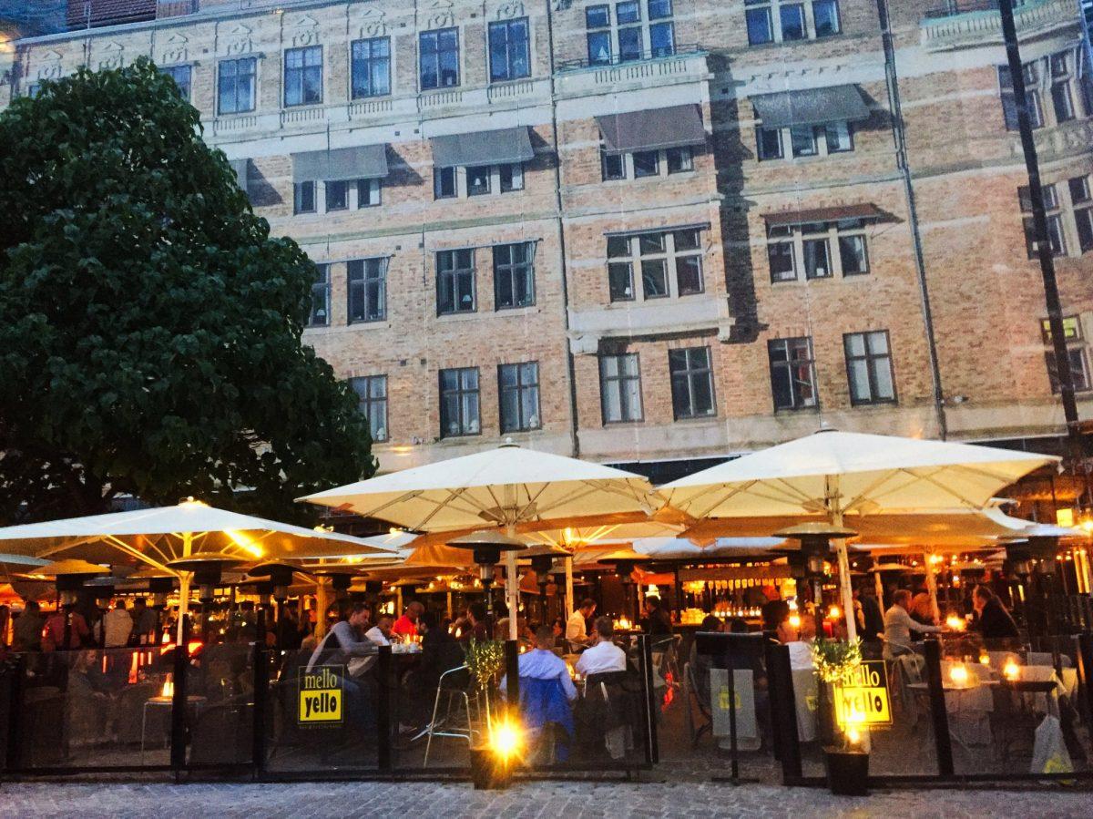 Mello Yello, un restaurante en Lilla Torg en Malmö <br> Foto: Israel Úbeda / sweetsweden.com