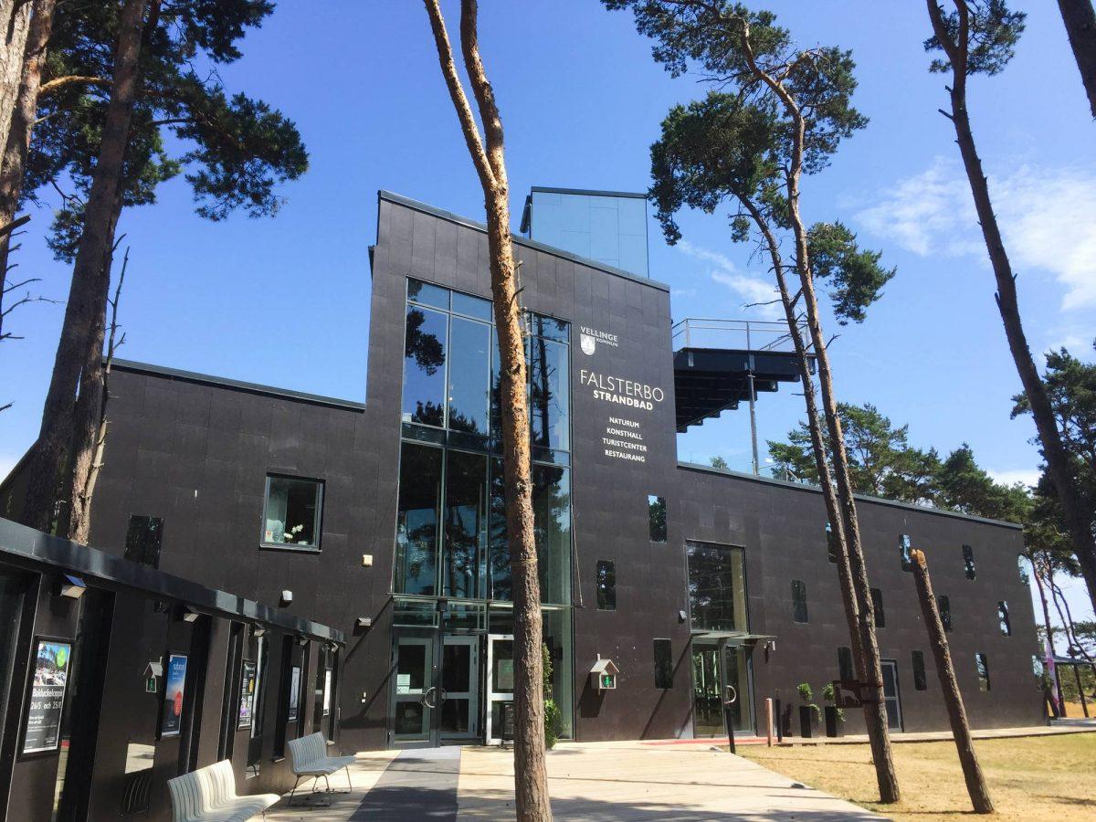 Edificio de Naturum Falsterbo <br> Foto: Israel Úbeda / sweetsweden.com