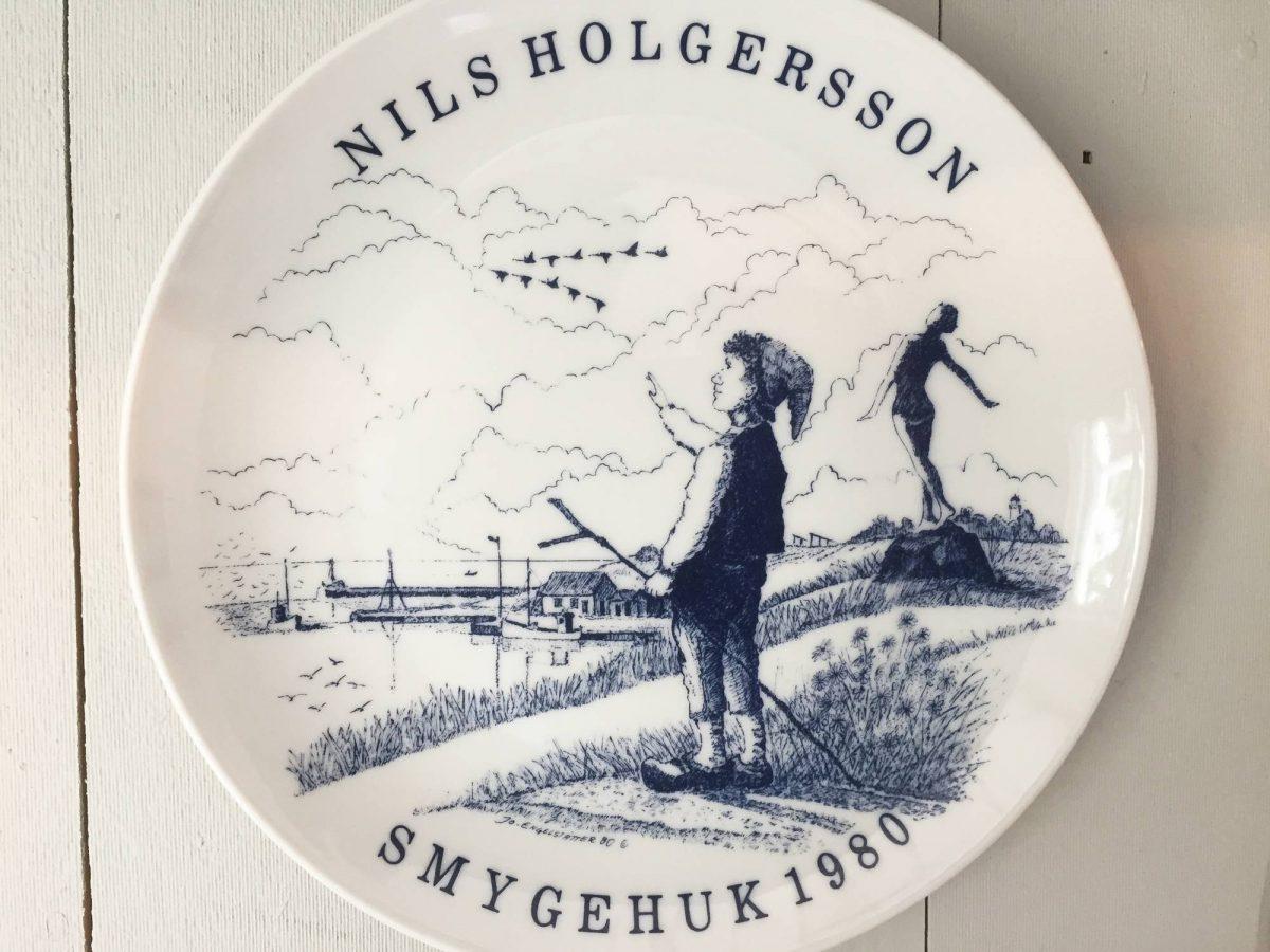 Plato de Nils Holgersson en Smygehuk <br> Foto: Israel Úbeda / sweetsweden.com