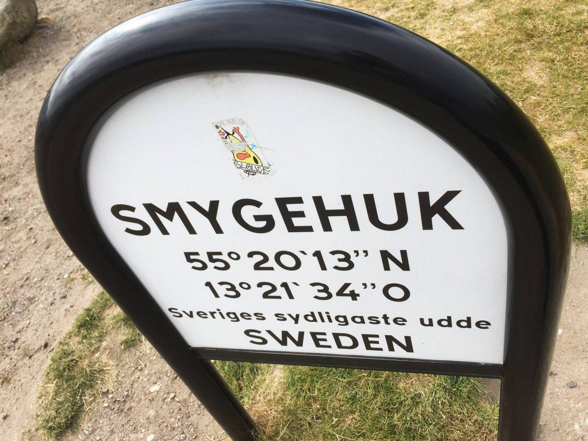 Smygehuk, el punto más al sur de Suecia <br> Foto: Israel Úbeda / sweetsweden.com