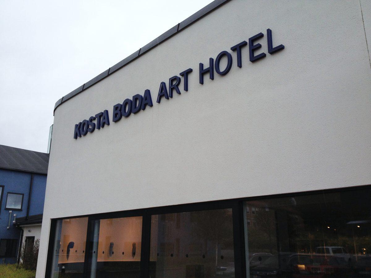 Entrada del Kosta Boda Art Hotel <br> Foto: Israel Úbeda / sweetsweden.com