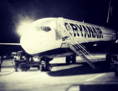 New Ryanair Flight between Gothenburg and Manchester, UK