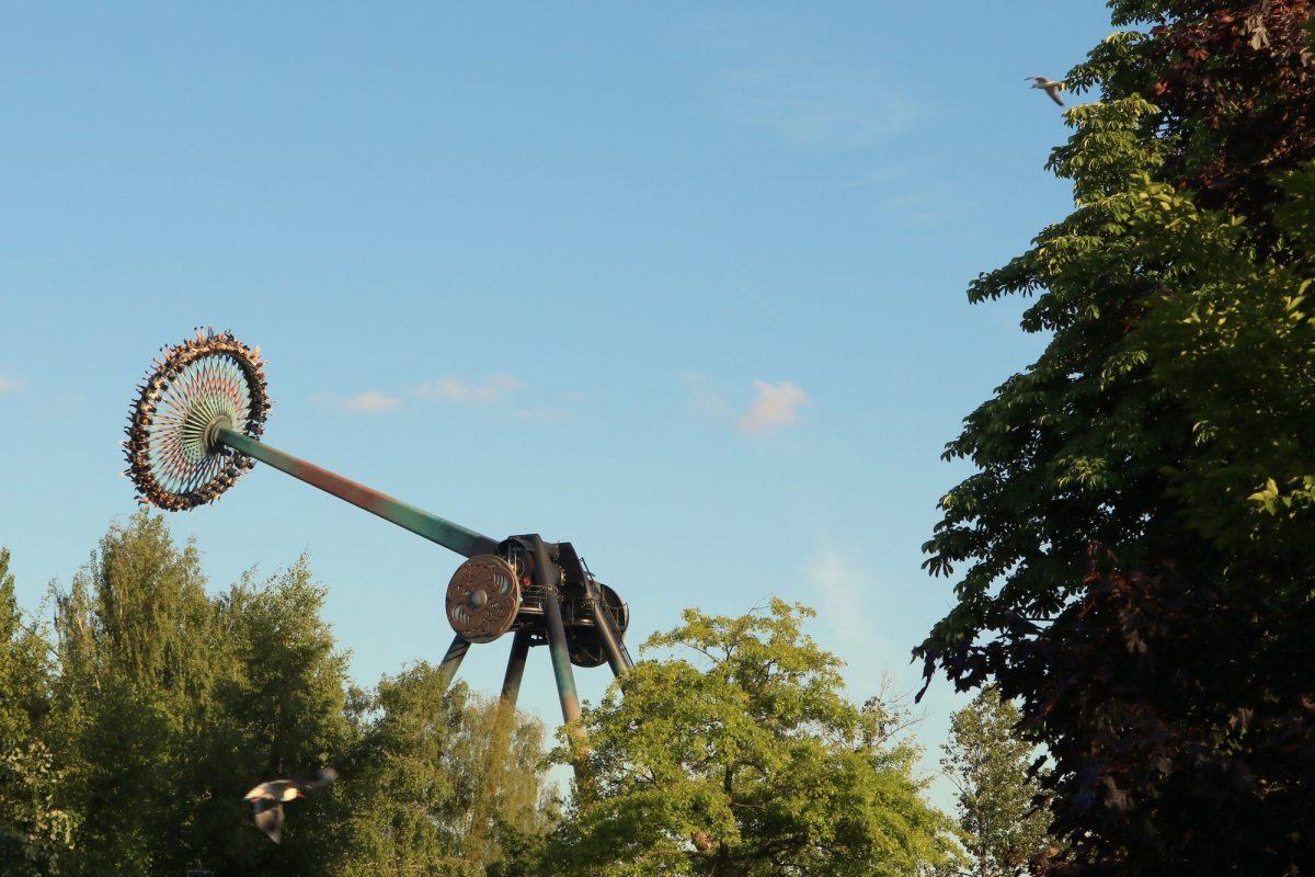 Loke una de las mejores atracciones de Europa en Liseberg <br> Foto: Israel Úbeda / sweetsweden.com