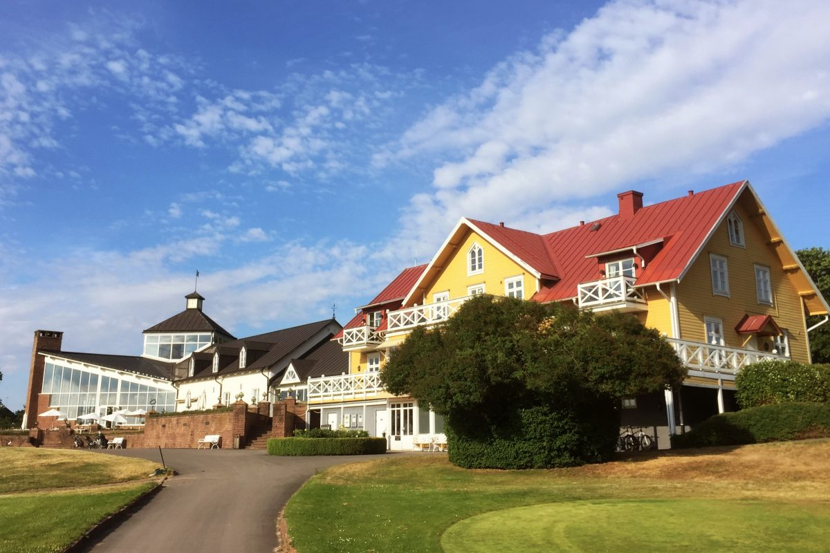 El hotel Ekerum Resort en Öland <br> Foto: Israel Úbeda / sweetsweden.com