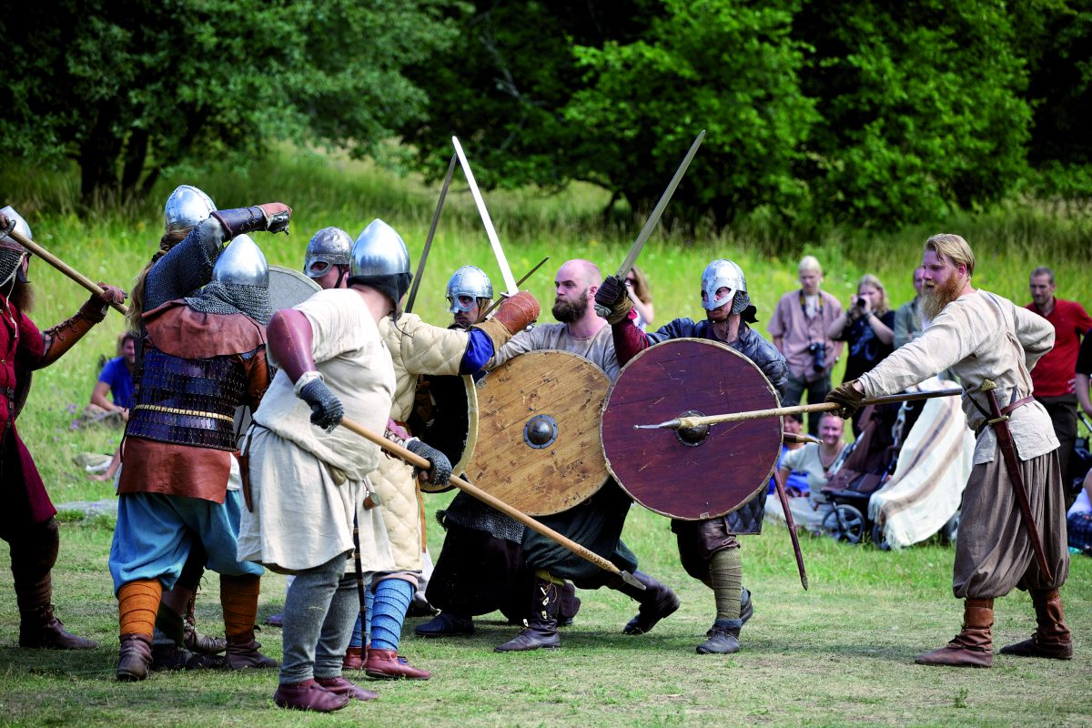 Actividades vikingas en la semana de Birka <br> Foto: Strömma.se