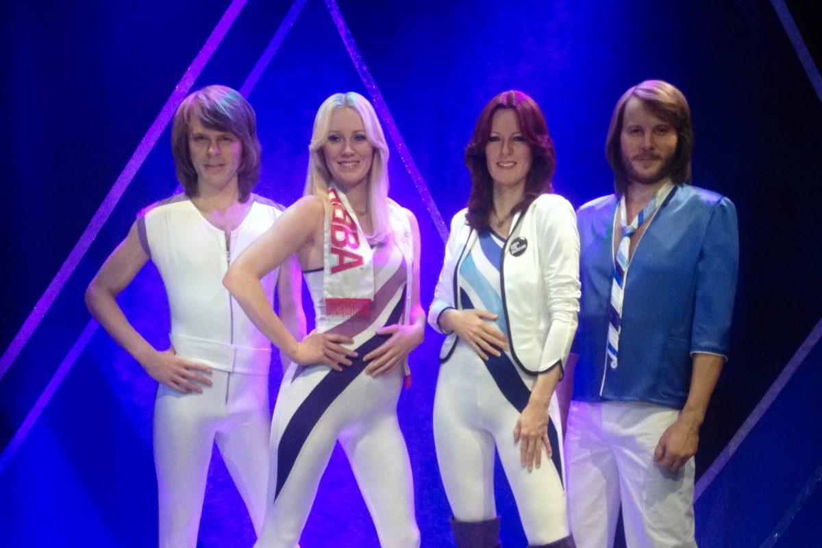 ABBA en figuras de cera en el Museo ABBA de Estocolmo <br> Foto: Israel Ubeda / sweetsweden.com