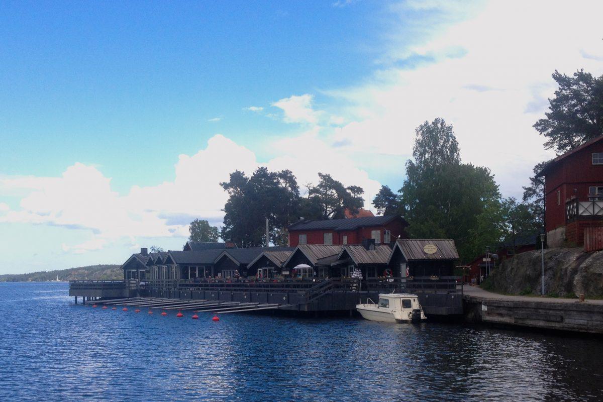 Restaurang Rökeriet, un ahumador en las islas Fjäderholmarna <br> Foto: Israel Úbeda / sweetsweden.com