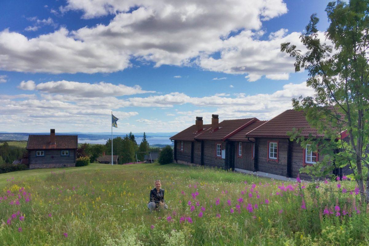 Vista de las fäbodar de Fryksås, Dalarna <br> Foto: Israel Úbeda / sweetsweden.com
