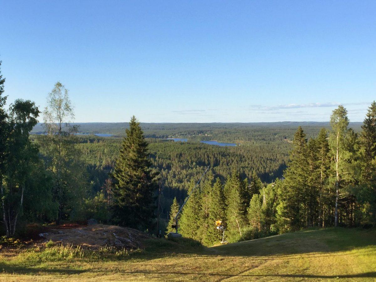 Landschap in Småland <br> Foto: Israel Úbeda / sweetsweden.com