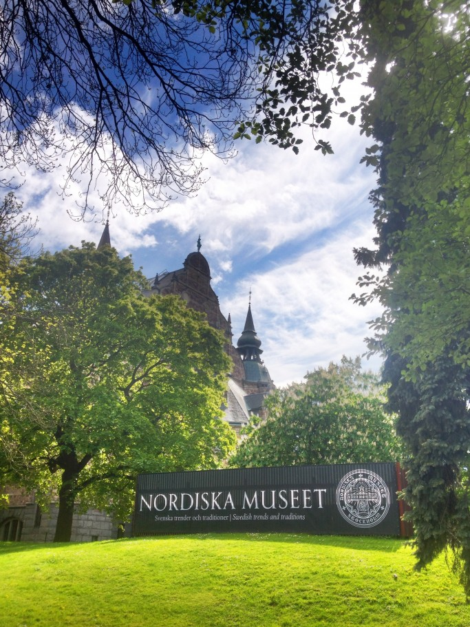 Nordiska museet - el Museo Nórdico de Estocolmo <br> Foto: Israel Úbeda / sweetsweden.com