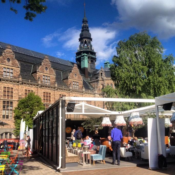 Josefina, la terraza con vistas en Estocolmo <br> Foto: Israel Úbeda / sweetsweden.com