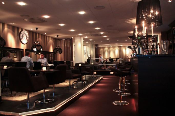 Interior del Blå Kök & Bar en Karlstad, foto: Israel Úbeda