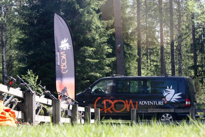 Crow Adventure: mountain bike en Karlstad y Värmland, Suecia, foto: Israel Úbeda