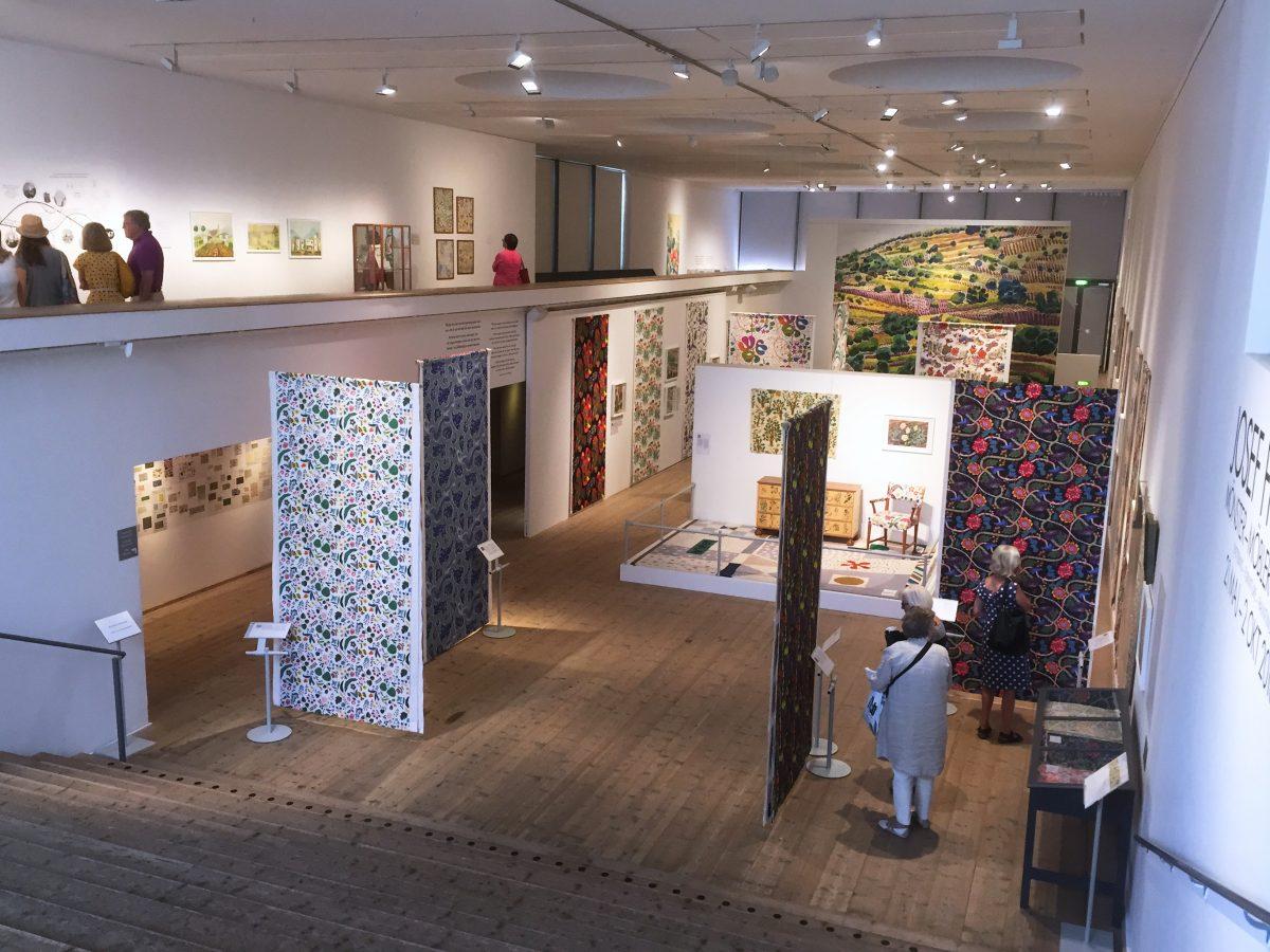 Exhibición de arte en el interior de Millesgården <br> Foto: Israel Ubeda / sweetsweden.com