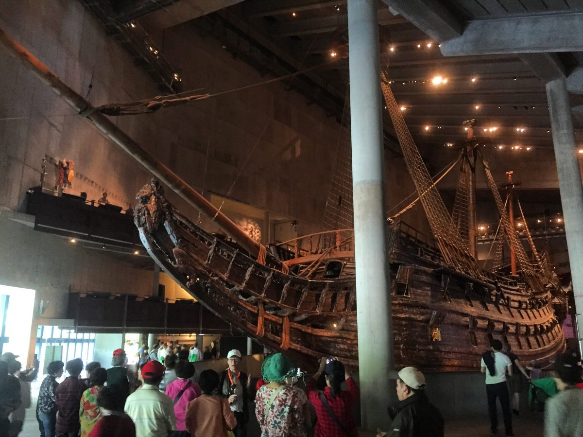 The Vasa Museum in Stockholm <br /> Photo: Israel Ubeda / sweetsweden.com