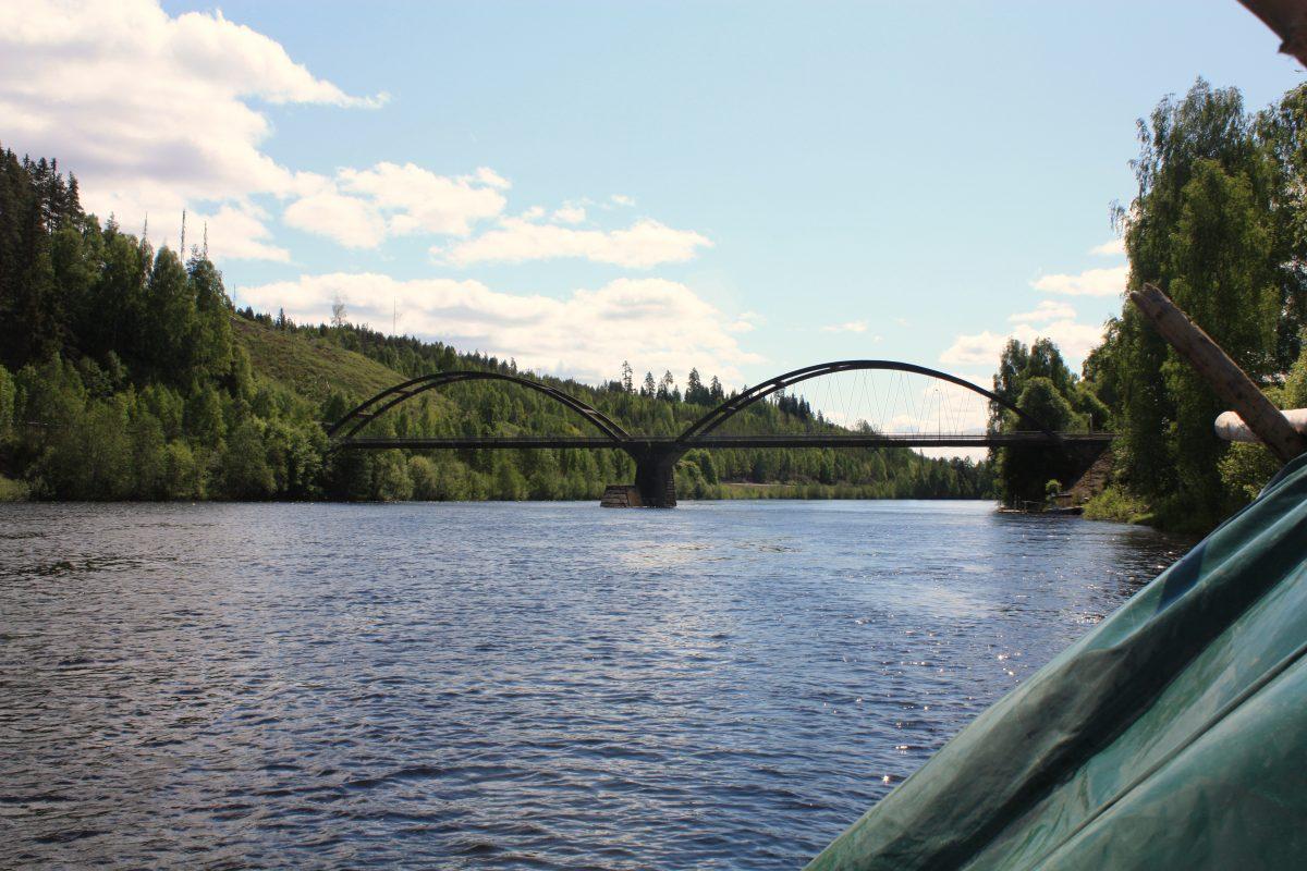 Paisajes del río Klara <br> Foto: Israel Úbeda / sweetsweden.com