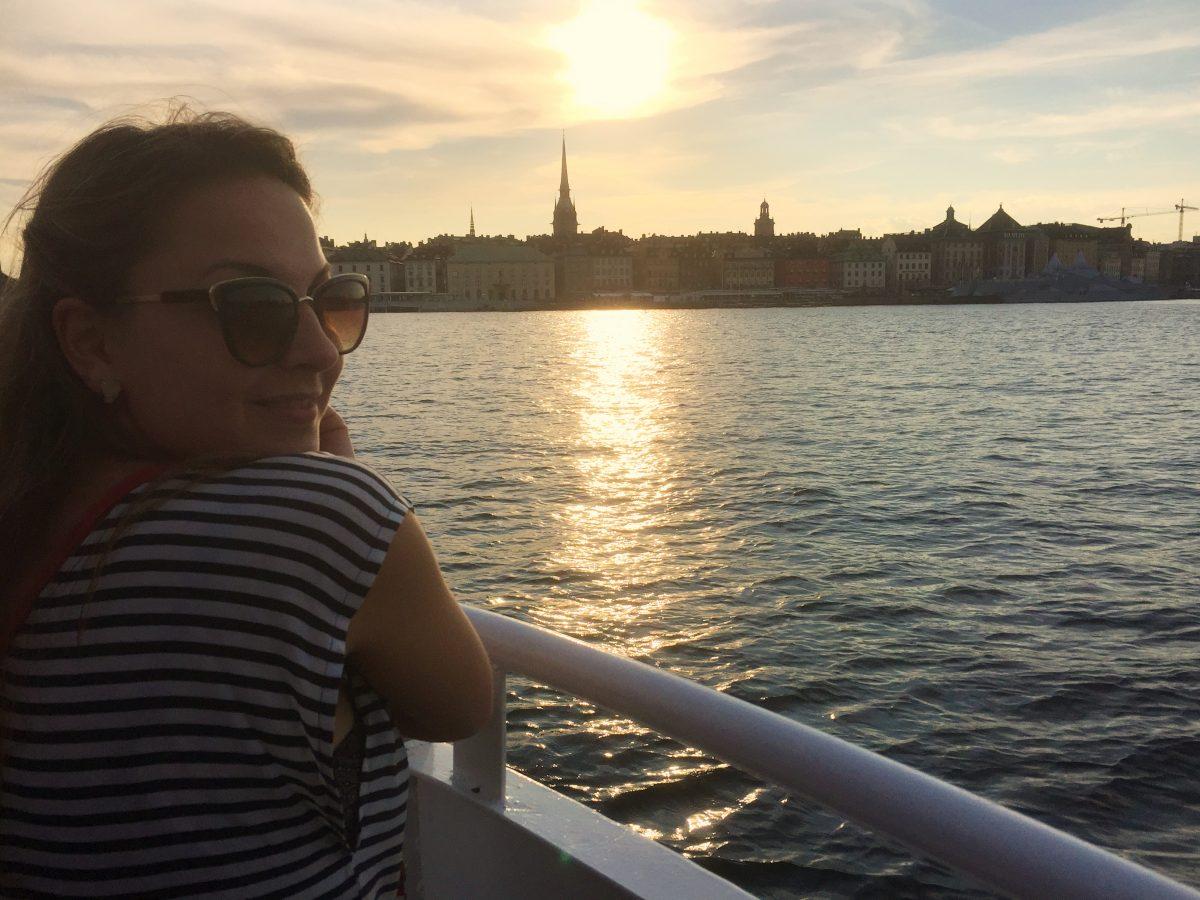 Gamla Stan desde el barco <br> Foto: Israel Úbeda / sweetsweden.com
