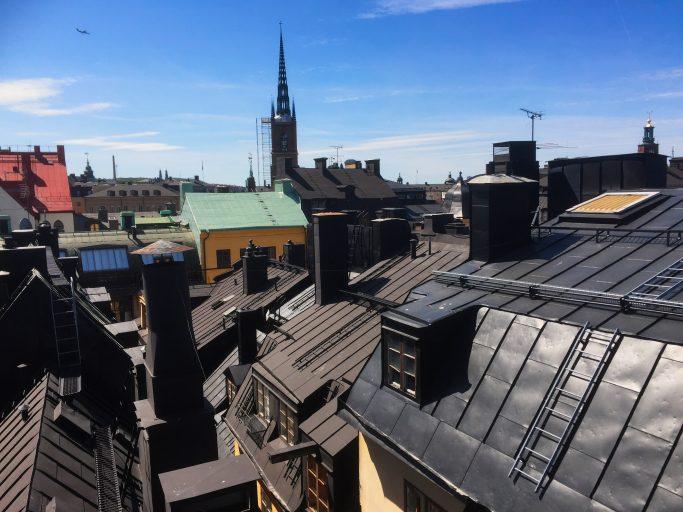 Vistas de los tejados de Gamla Stan en Estocolmo - Foto: Israel Úbeda/sweetsweden.com