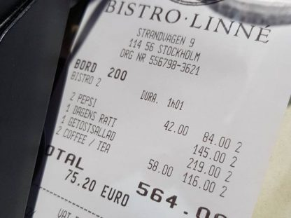 Consejos sobre comer fuera en Estocolmo