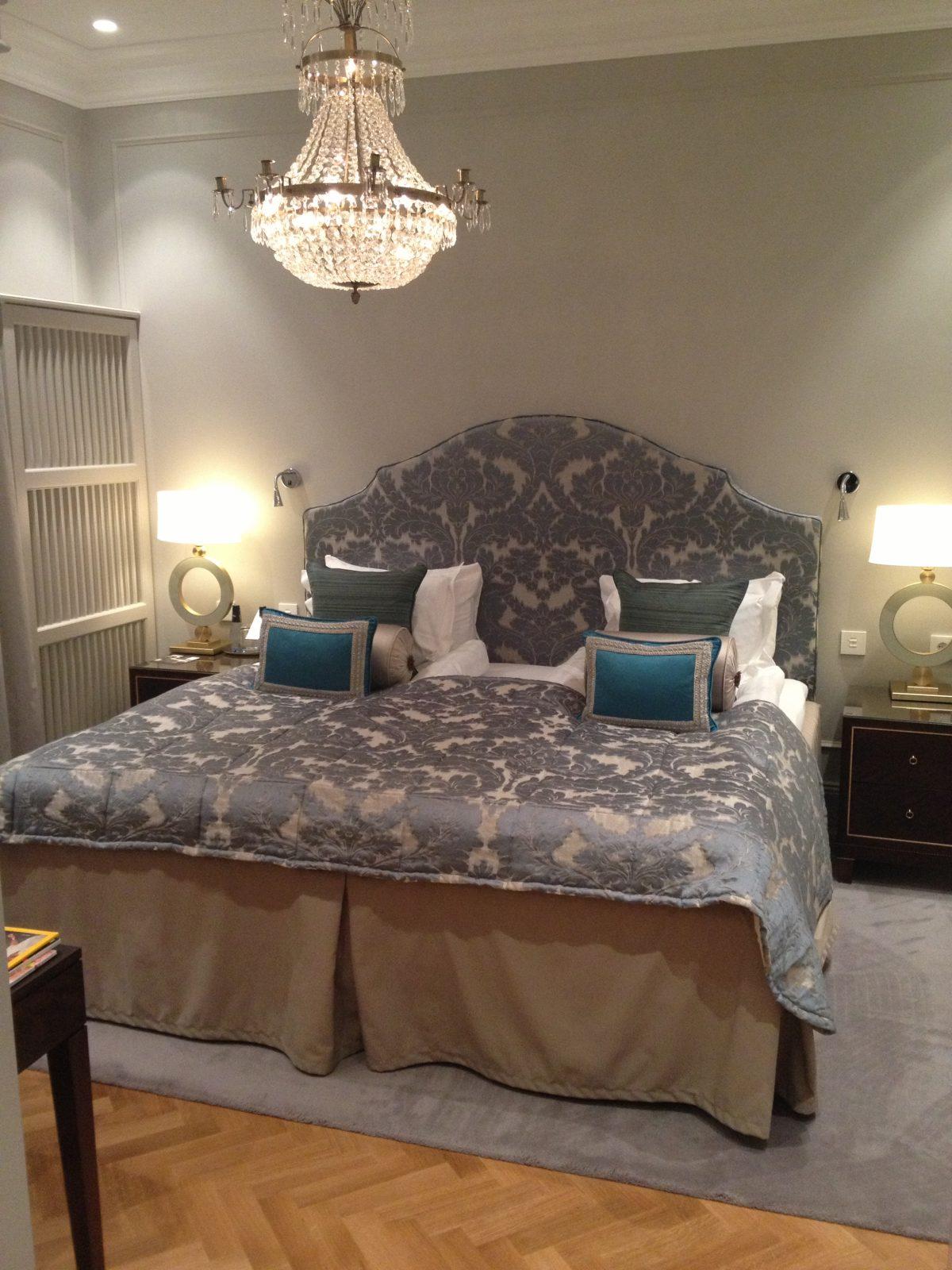 Mi habitación en el Grand Hotel Estocolmo <br> Foto: Israel Úbeda / sweetsweden.com