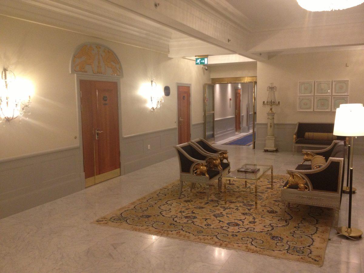 Interior del Grand Hotel Stockholm <br> Foto: Israel Úbeda / sweetsweden.comInterior del Grand Hotel Stockholm <br> Foto: Israel Úbeda / sweetsweden.com