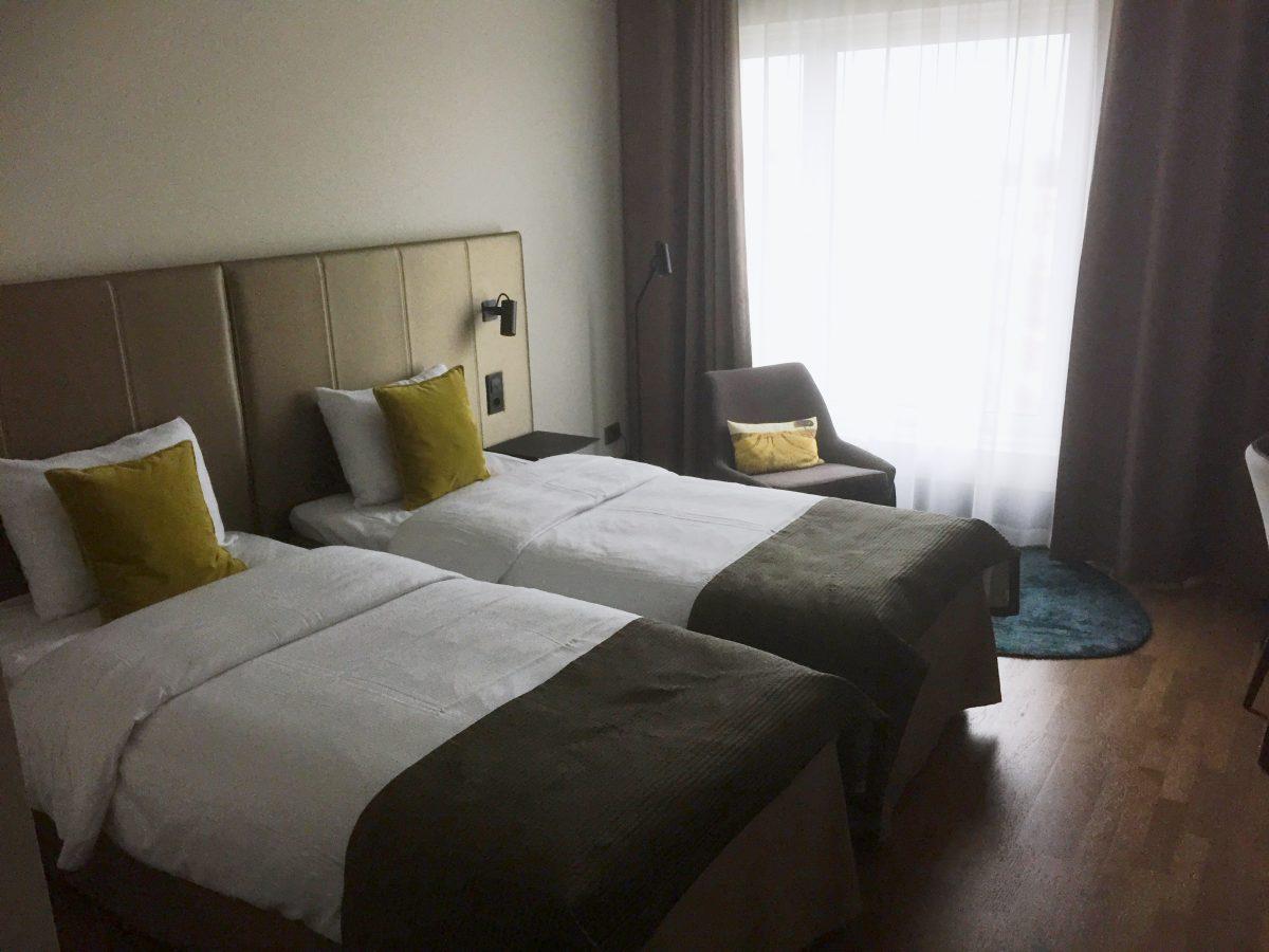 Habitación del Quality Hotel View en Malmö <br> Foto: Israel Ubeda / sweetsweden.com