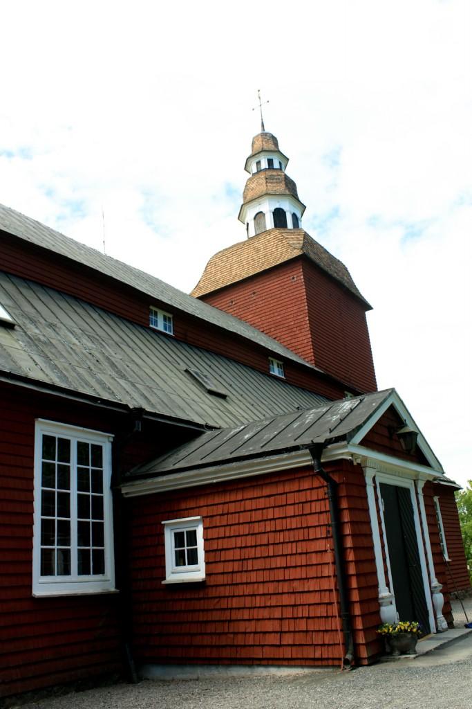 La iglesia de Habo en Småland, foto: Israel Úbeda