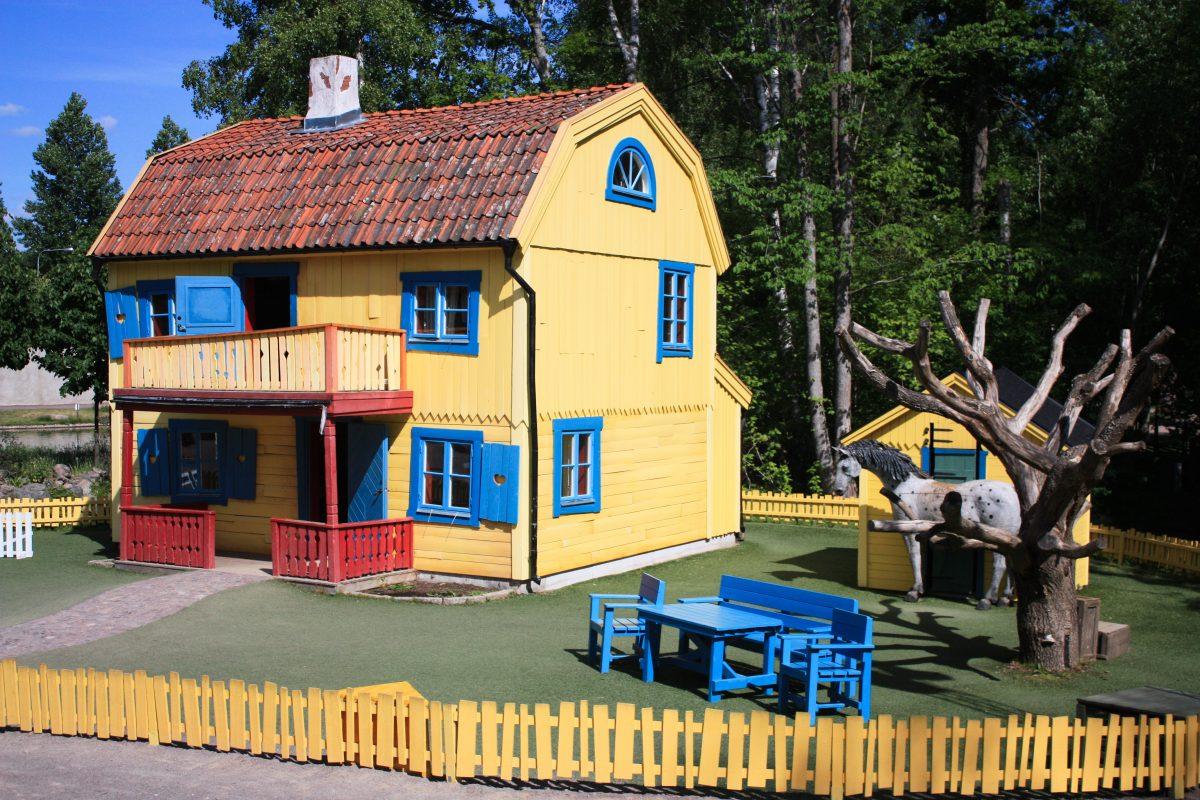 Villa Villekulla, la casa de Pippi Calzaslargas en Vimmerby <br> Foto: Israel Úbeda / sweetsweden.com