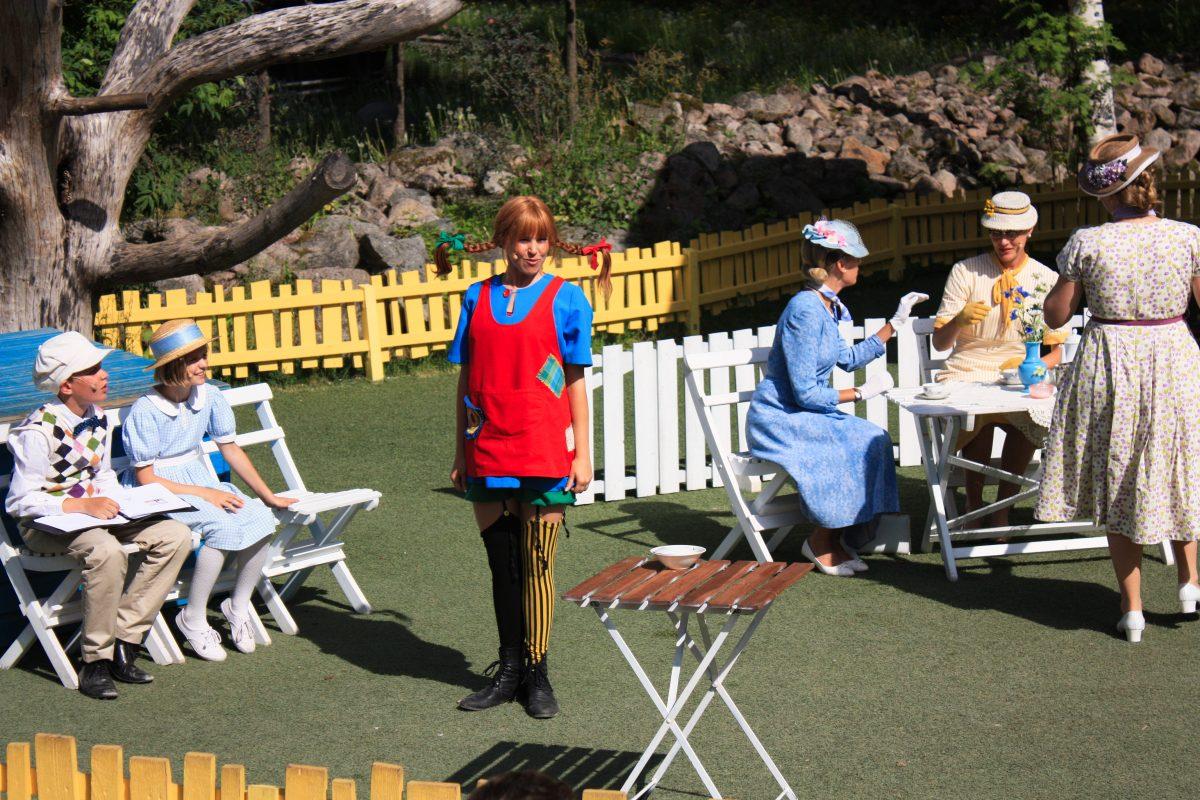 El parque temático de Pippi Calzaslargas en Vimmerby, Suecia <br> Foto: Israel Úbeda / sweetsweden.com