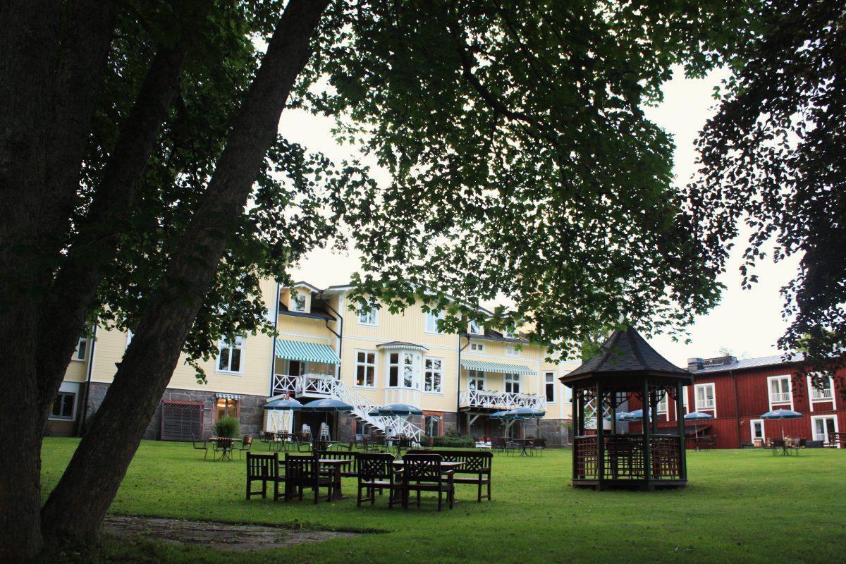 La casa señorial Fredenborgs Herrgård cerca de Vimmerby, Suecia <br> Foto: Israel Úbeda / sweetsweden.com