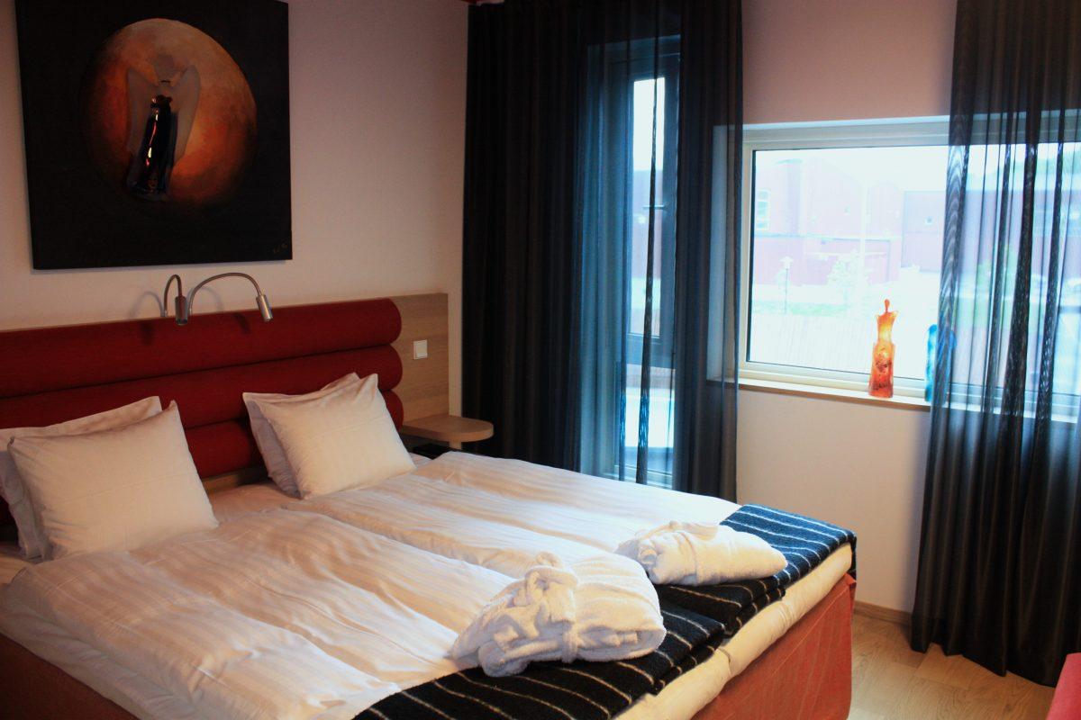 Habitación en el Kosta Boda Art Hotel en Suecia <br> Foto: Israel Úbeda / sweetsweden.com