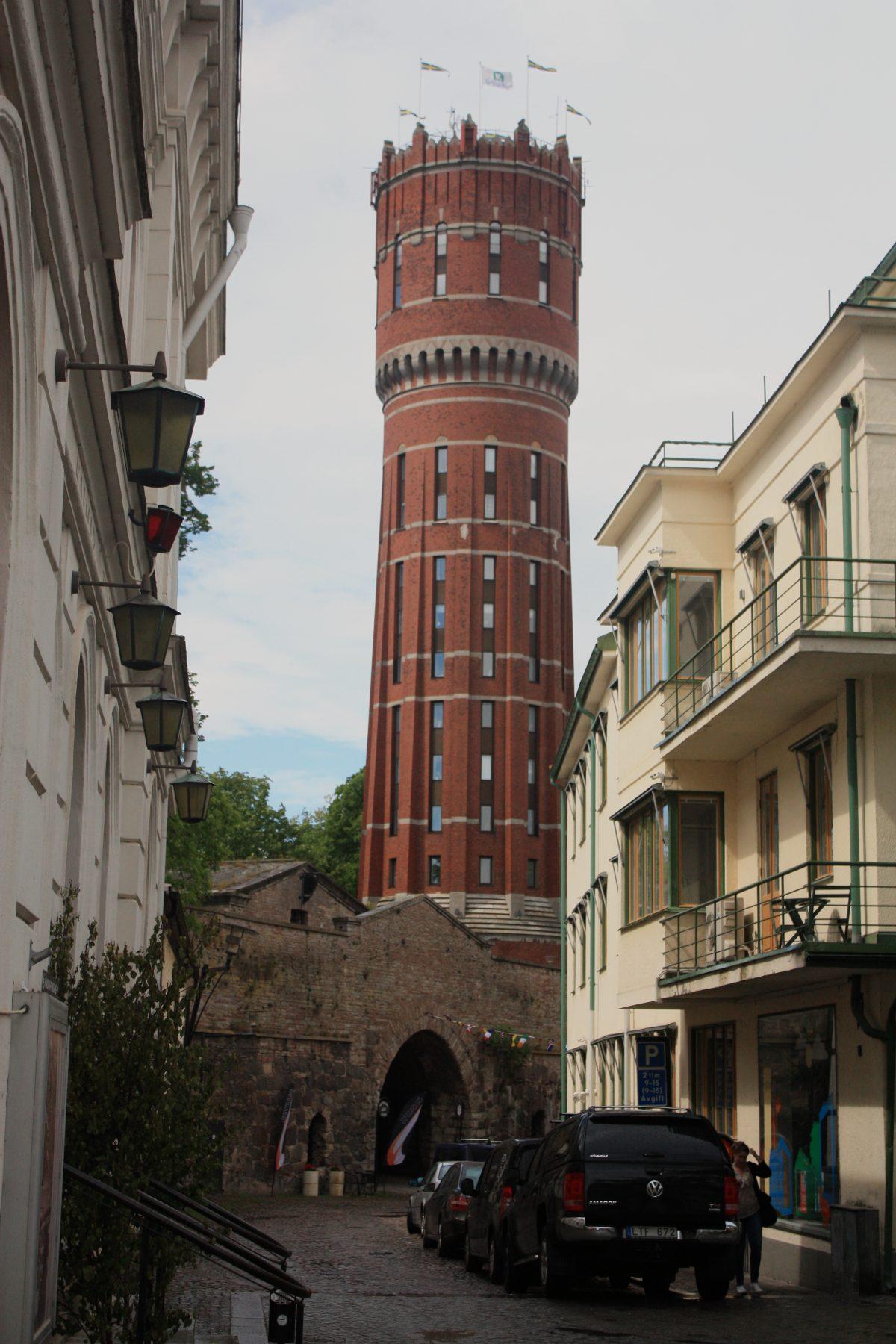 La Torre de Kalmar <br> Foto: Israel Úbeda / sweetsweden.com