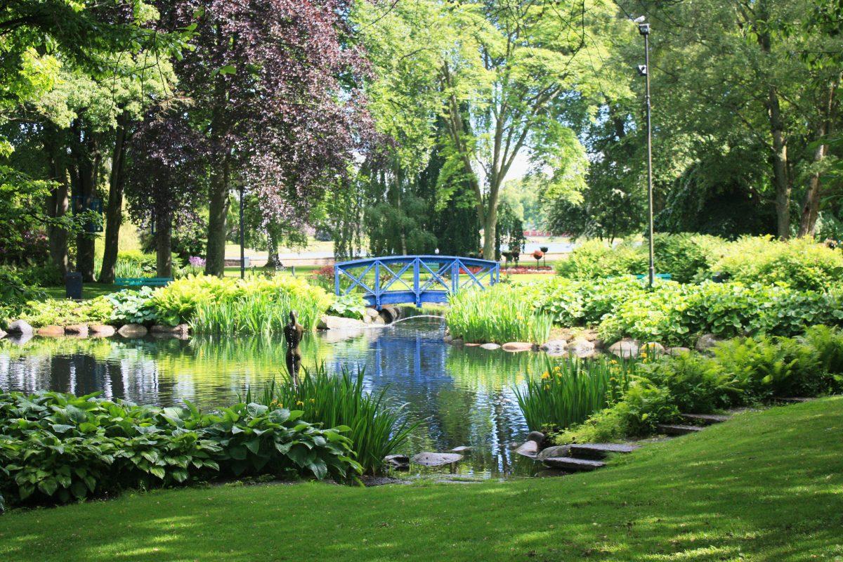 Stadsparken, el parque de Kalmar <br> Foto: Israel Úbeda / sweetsweden.com