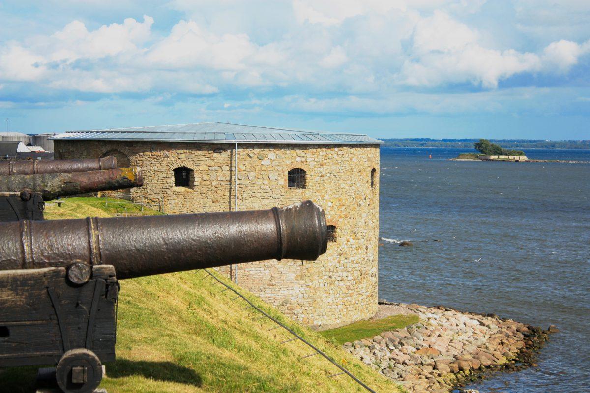 Vista de la isla Grimskär desde el castillo de Kalmar <br> Foto: Israel Úbeda / sweetsweden.com