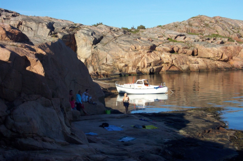 ¿Arena? No, gracias. Las playas rocosas en islas de Bohuslän, Suecia <br> Foto: Israel Ubeda / sweetsweden.com