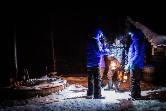 Instrucciones sauna y hielo - Foto: Ted Logardt / visitskellefteå.se