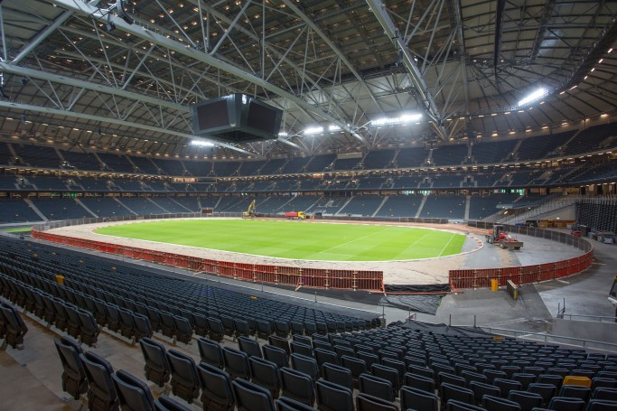 Interior del Friends Arena de Solna