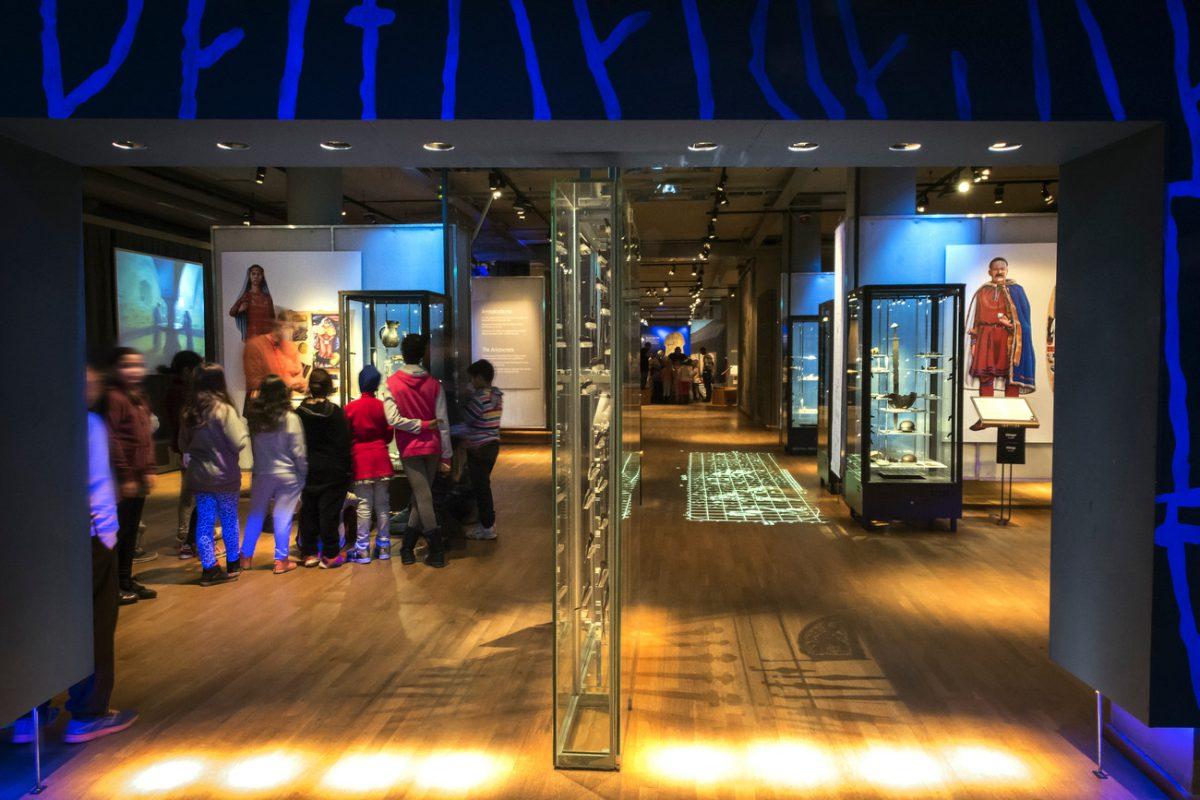 La exhibición de vikingos del Historiska Museet <br> Foto: Katarina Nimervoll / SHMM
