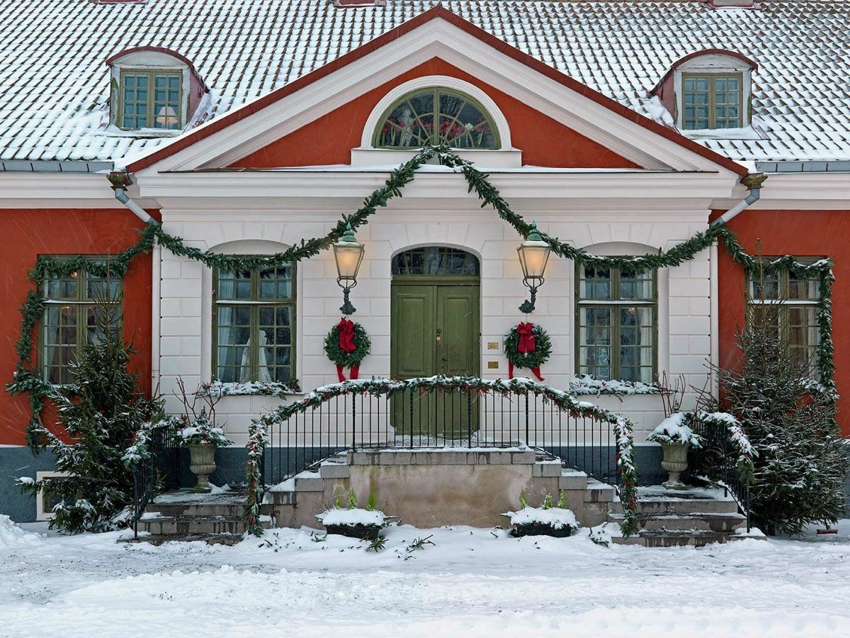 Katrinetorp la casa palaciega de Malmö convertida en mercado de Navidad <br> Foto: malmo.se